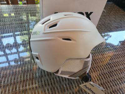 Lyžařská helma Uvex helma FIERCE white, velikost 55-59