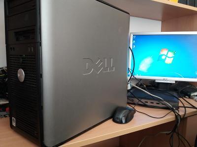 DELL OptiPlex 755 Core2Duo, 4GB, 250GB, DVD-RW, Win7 Pro