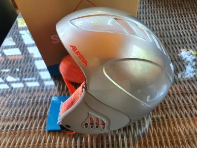 Dětská lyžařská helma Alpina Carat, velikost 54-58