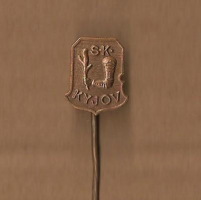 SK Kyjov / Na rubu: Karnet - Kyselý Praha / odznak
