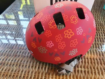 Dětská cyklistická helma UVEX KID 3 CC, DARK RED, vel. 55-58