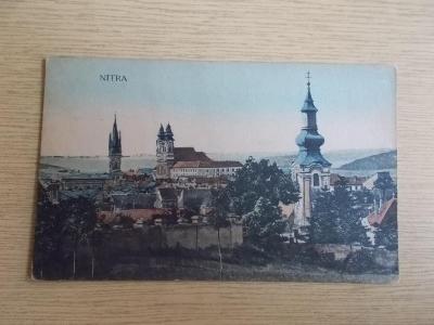 Pohled Slovensko Nitra