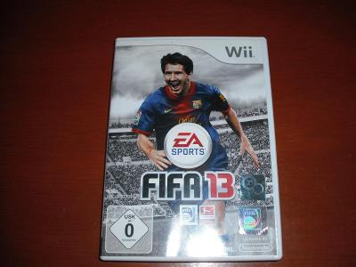 Hra Fifa 2013 na Wii