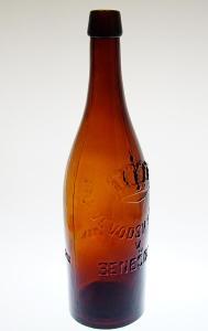 Stará pivní lahev 1 litr ARCIVÉVODSKÝ PIVOVAR v BENEŠOVĚ