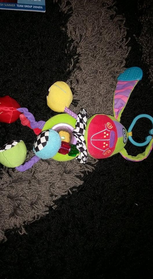 Závěsná hračka na kočárek pro miminka - pejsek - Hračky