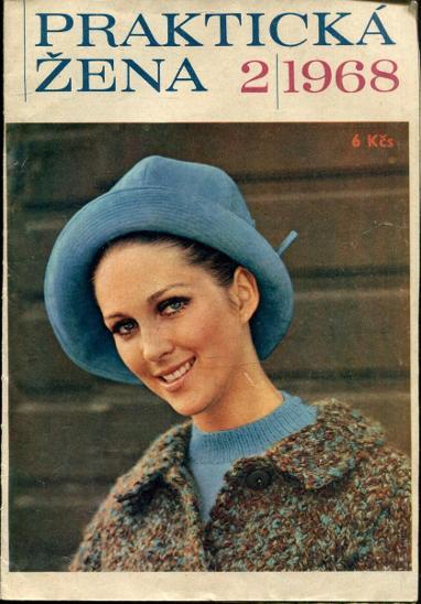 Praktická žena - různá čísla - 2/1968  2/1971  3/1971  3/1972 - Časopisy