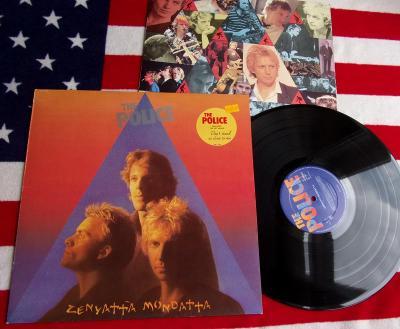 ⭐️ LP: THE POLICE - ZENYATTA MONDATTA, jako nová NM+, 1press NL 1980