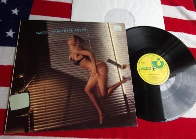 💥 LP: FARGO - FRONTPAGE LOVER, jako nová MINT!! 1.press West Germany