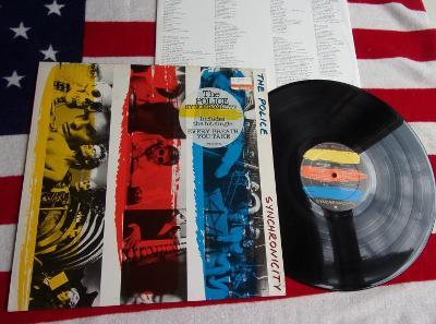 ⭐️ LP: THE POLICE - SYNCHRONICITY, jako nová MINT, 1press Holland 1983