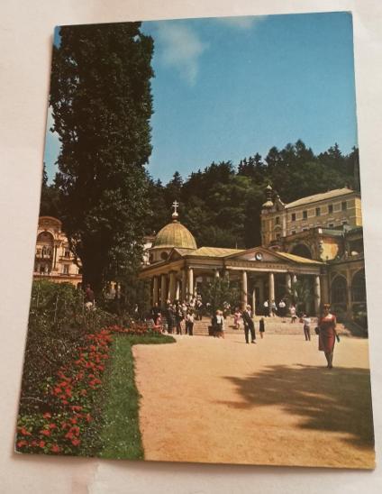 Pohled  Mariánské lázně - Pohlednice