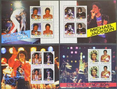 St Vincent 2009, Michael Jackson 4x aršík
