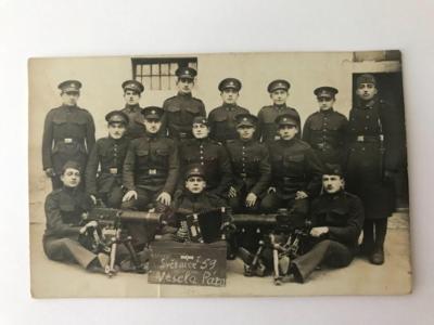 stará foto pohlednice - ČS Armáda - První Republika !!!