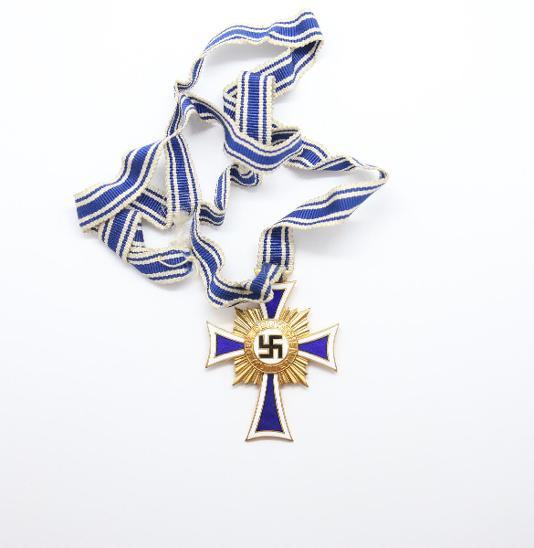 Německo - Kříž německých matek, I. stupeň  - Vojenské