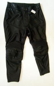 Kožené zkrácené kalhoty TEX PEED - vel. 24, pas: 90 cm