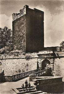 CHEB - hrad - Černá věž