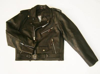 Kožená bunda křivák- vel. M/50
