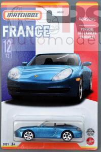 Matchbox Best of France Porsche 911 Carrera Cabrio - poštovné v popise