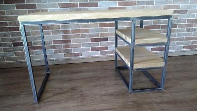 Psací stůl industriální styl