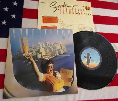 ⚠️ LP: SUPERTRAMP -  BREAKFAST IN AMERICA, jako nová MINT!!!, NL 1979