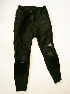 Kožené kalhoty HEIN GERICKE- vel. XL/54, pas: 92 cm
