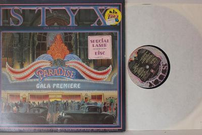 Styx – Paradise Theatre LP 1981 vinyl NL Laser Etched jako nove NM