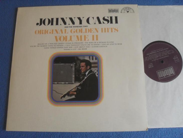 LP Johnny Cash - Original golden Hits Volume II - Hudba