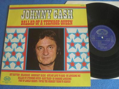LP Johnny Cash - Dallad Of a Teenage Queen