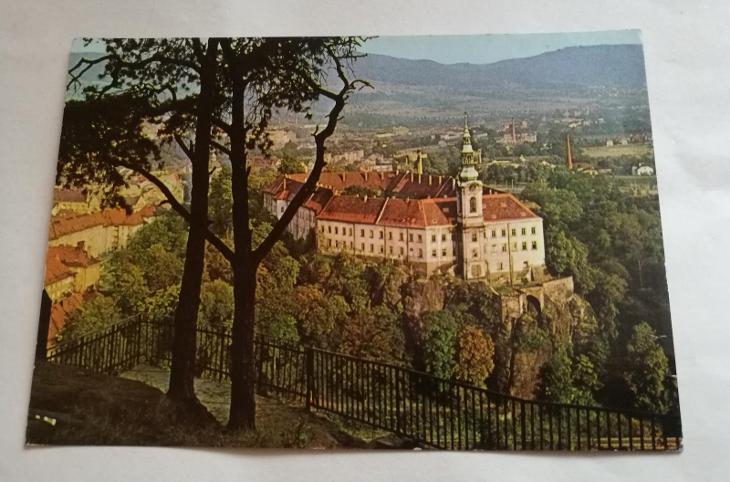 Pohled  Děčín - Pohlednice