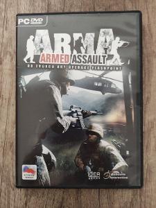 PC hra - Arma Armed Assault - CZ