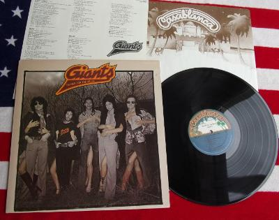 💥 LP: GIANTS - THANKS FOR THE MUSIC, jako nové NM, 1.press USA 1976
