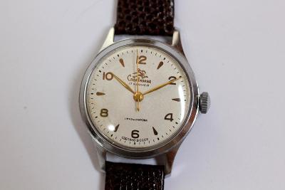 pánské hodinky SPORTIVNIE, USSR, bílý číselník, TOP STAV