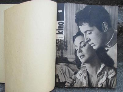 VÁZANÝ ČASOPIS - KINO 1961