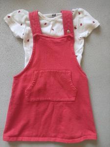 Laclová sukně/šaty H&M vel 98
