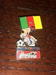 Odznak MS ve fotbale USA 1994 tým Kamerun