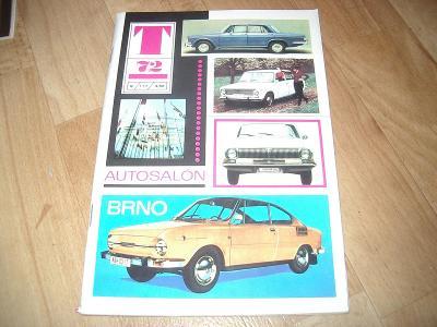 Časopis Technický magazín 1972 VOLHA,LADA,ŠKODA!!!!!!!!!!!!!!