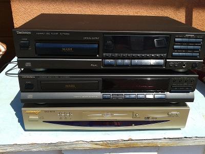 3x CD player