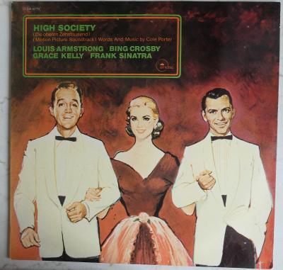 High Society  (Motion Picture Soundtrack) - LP 1970 Emidisc Germany