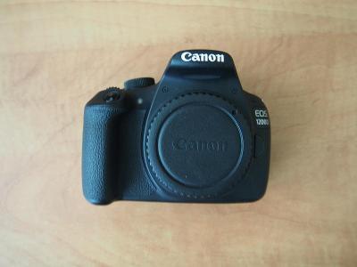 Zrcadlovka Canon EOS 1200D + EF-S 18-55mm + EF 55-200mm+další výbava