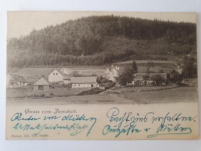 Šumava - Horní Vltavice, Račí (Mitterberg), Annenský dvůr (Annahof)