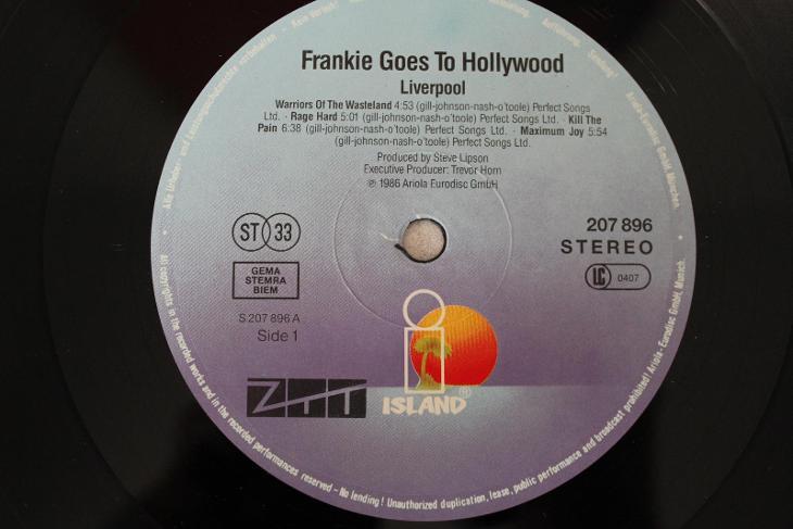 Frankie Goes To Hollywood – Liverpool LP 1986 vinyl Germany 1.press - Hudba