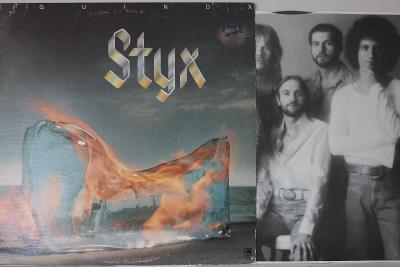 Styx – Equinox LP 1975 vinyl USA 1.press super stav EX