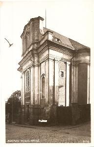 BROUMOV - kostel sv. Václava - Náchod