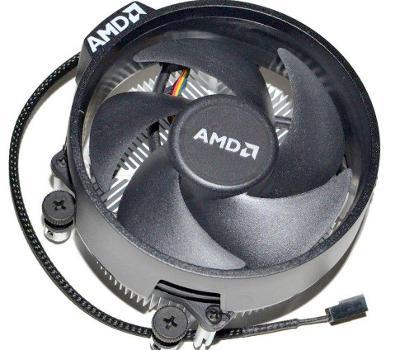 Originál AMD Socket AM4 Wrait Steath Ryzen  chladič s 4pin větrákem!