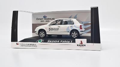 KADEN Škoda Fabia I (2001) – ČRo 1 Radiožurnál 1:43