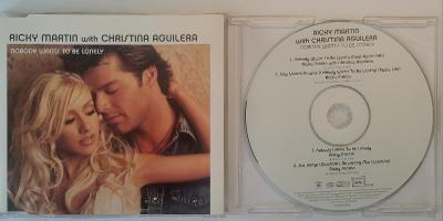 MCD Ricky Martin With Christina Aguilera - No Body Wants To Be Lonely