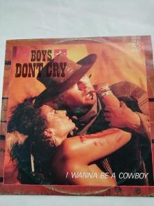"""MAXISINGL 12 """"  BOYS DONT CRY"""