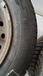Zánovní zimní pneumatiky Barum Polaris 5 na discích  - cena za sadu