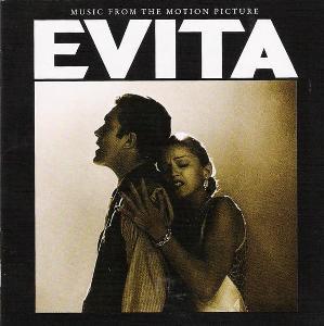 EVITA SOUNDTRACK CD ALBUM
