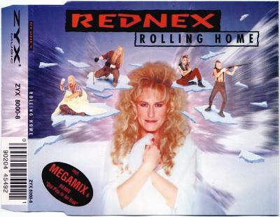 REDNEX-ROLLING HOME CD SINGLE 1995.