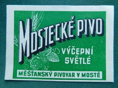 PE - Pivovar - Most